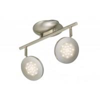 Briloner Piatto LED Spot gaismeklis, 2xLED 4.5W, 450lm, 2804-022