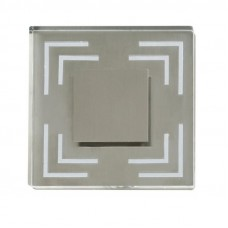"Virsapmetuma gaismeklis sienai ""STAIRS"" 1 x 0,6W LED modulis, alumīnijs, 7136-611"