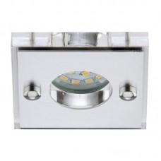 """Iebūvējams gaismeklis """"ATTACH"""" 1 x 5W LED modulis, matēts niķelis/alumīnijs, 7215-012"""