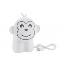"Dimmable fun lamp ""Monkey"", 12xLED 0.06W, with battery, 8500-9000K - 7009-016"