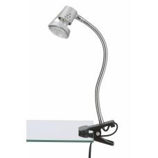 Clip-on lamp 1 x Gu10, LED, max. 2.3W, IP20, titanium 2606-010P
