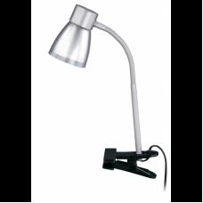Clip-on lamp 1 x E14 max. 40W, IP20, titanium - 2687-010P, Briloner