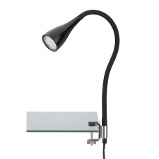 "LED clamp light ""ELASTI"" LED/GU10 3W, black/white - 2762-015P"