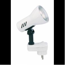 Lampa lasīšanai 1 x E14/R50 max. 25W, IP20, titāns/balts