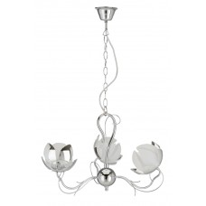 "Ceiling light ""FLOWER"" 3 x G9 max. 28W, IP20, chrome - 4223-038"