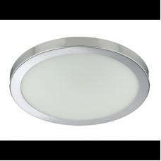 Plafonlampa 1x E27 max. 60W, hroms