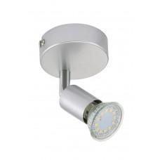 """Spotlampa """"TITAN"""" 1 x 3W LED/GU10, titāna krāsa - 2906-014"""
