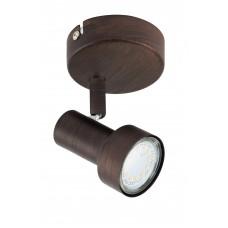"""Spotlampa """"ROST"""" 1 x 3W LED/GU10, antīkais varš - 2843-011"""