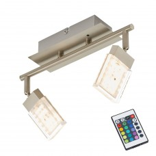 "LED RGB spotlampa ""BUNTO"" 2 x 3.6W LED - 2530-022"