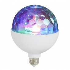 "LED spuldze ""Disco Light"" E27 RGB, 3W, 180° - 0528-003 - 4002707310242"