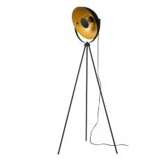 "Stāvlampa ""SAND"" 1 x E27 max. 60W, melna un zelta - 1380-015"