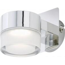 Vannas istabas gaismeklis 1x 5W, 400Lm, LED, IP44, hroms