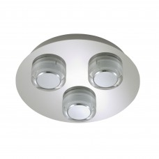 Bathroom light 3 x 5W LED, IP44, chrome - BRILONER - 2257-038