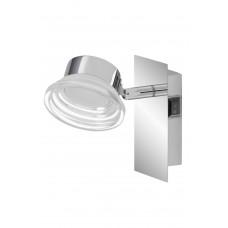 Vannas istabas gaismeklis 1x 4.5W LED, IP23, hroms, 5 gadu garantija - BRILONER - 2279-018