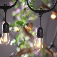 LED gaismas virteņu noma -  14.4m 15x E27 spuldzes