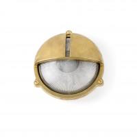 Outdoor wall lamp TIMON, 1 x E27 max. 60W, IP44, brass - FARO - 70996