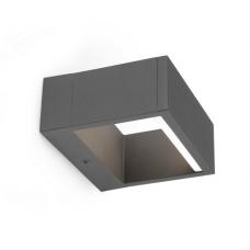 Āra gaismeklis ALP LED, 6W, IP54, tumši pelēks metāls, FARO 74450