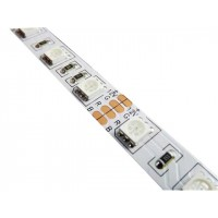 RGB LED sloksne - lenta ar 60x5050SMD diodēm/metrā IP20