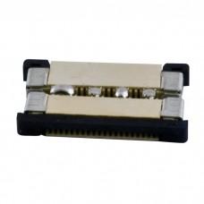 LED sloksnes - lentes savienotājs 10mm sloksnēm ar 4x kontaktiem un aizbīdni - 5050SMD RGB