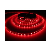 LED sloksne - lenta 3528 SMD 60diodes/m sarkana krāsa RED IP20