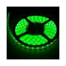 LED sloksne - lenta 3528 SMD 60diodes/m zaļa krāsa GREEN IP20