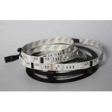 LED sloksne - lenta 5050 RGB SMD 30 diodes/metrā 7.2W/m, IP20 - ST43xx