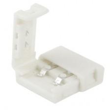 LED sloksnes - lentes savienotājs 10mm sloksnēm ar 2x kontaktiem - 5050SMD - OT5152