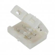 LED sloksnes - lentes savienotājs 8mm sloksnēm ar 2x kontaktiem - 3528SMD - OT5151