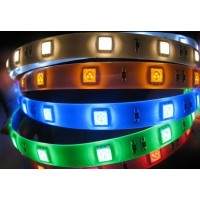 RGB LED sloksne ar 60x5050SMD diodēm/metrā IP65