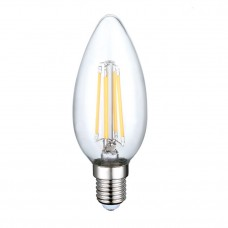 4W E14 FILAMENT LED spuldze, 400 Lm, silti balta gaisma - SP1472