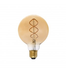 Dimmable 5W Retro Vintage G95 E27 Filament LED bulb, 250Lm, 2000K - 17408 Faro