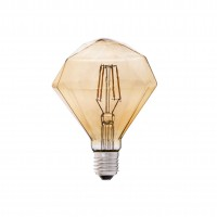 "5W Retro Vintage ""DIAMOND"" E27 Filament LED bulb, 350Lm, 2200K - 17435 Faro"