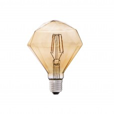 "5W Retro Vintage ""DIMANTS"" E27 Filament LED spuldze, 350Lm, 2200K - 17435 Faro"