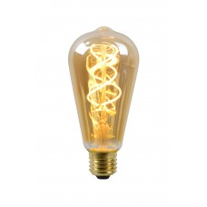 """5W, E27, Filament LED spuldze, """"AMBER"""", 260LM, 2200K, Lucide, 49034-05-62"""