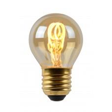 """3W, E27, Filament LED spuldze, """"AMBER"""", 120LM, 2200K, Lucide, 49045-03-62"""