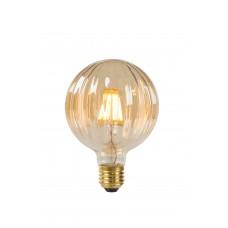 """6W, E27, Filament LED spuldze, """"AMBER"""", 550LM, 2200K, Lucide, 80104-06-62"""