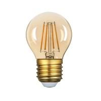 Dimmējama 4W E27 G45 Filament LED spuldze, 350Lm, 300°, Optonica 2700K