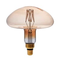 Dimmējama 8W Retro Vintage MS200 E27 Filament LED spuldze, 700Lm, 1800K - P1793