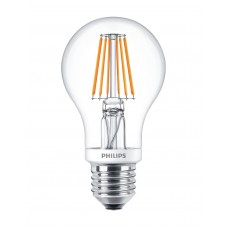 7.5W dimmable Filament E27 LED spuldze 827 (60W) 2700K 806lm - PHILIPS - 929001228002