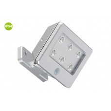 "Function outdoor light ""LERO"", 6 LED module, 0.48W, IP54, with motion detector - 2276-061"