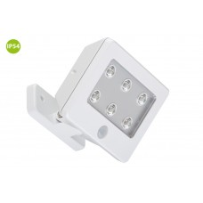"""Function outdoor light """"LERO"""", 6 LED module, 0.48W, IP54, with motion detector - 2276-066"""