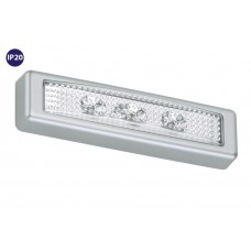 "Function light ""LERO"", 3 LED module, 0.4W, with motion detector - 2689-034"