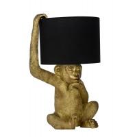 "Galda lampa ""EXTRAVAGANZA CHIMP"", melna, 1x E14, Lucide, 10502-81-30"