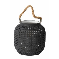 SAFIYA - Table lamp - 1x E14 - Grey/White