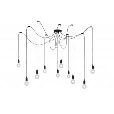 """Lampa """"FIX Multi"""", 10x E27 max. 60W, melna - silikons  - LUCIDE - 08408-10-30"""