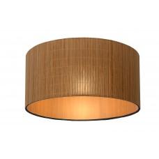 "Griestu lampa ""MAGIUS"", 1xE27, gaišs koks - rotāns, Lucide, 03129-42-30"