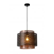 """Griestu lampa """"ORRIN"""", 1x E27 max. 60W, melna - metāls - LUCIDE - 02404-01-30"""
