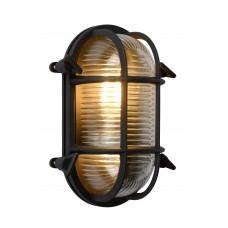 """Sienas āra gaismeklis """"DUDLEY"""", 1x E27, melna - alumīnijs, stikls, LUCIDE, 11891-20-30"""