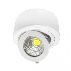 12W LED COB Surface Downlight Round Adjustable 45° - CB2262