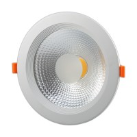 Recessed ceiling light 1 x 20W LED module, NW, OPTONICA
